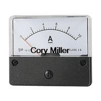 Rectangle DC 0-10A Current Panel Meter Ammeter Gauge