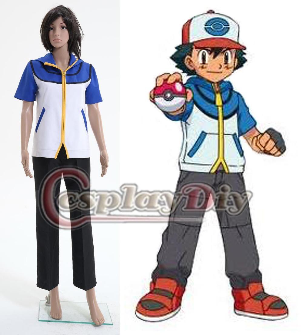 Ash Ketchum Costume Adults Ash Ketchum Uniform Adult