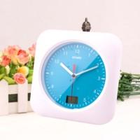 Waterproof Shower Clock Mute Bathroom Electronic Wall Clock Antimist Sucker Clock Quartz Wall Watch