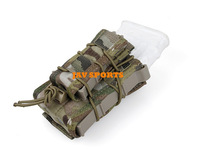 TMC Double Decker TC Cordura Tactical Military MOLLE Magazine Pouch In Multicam+Free shipping(SKU12050472)