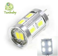 Tanbaby G4 led SMD 5730 12led LED Light Corn Bulbs DC12V white ulter bright led Candle Lighting home led lamps