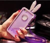 Diamond Case Cover For iPhone 5 5S Rabito Case.
