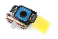 GO32 SJ4000 Multi-color Light Motion Night Under Sea Filter For GoPro Hero 3 Camera Accessories
