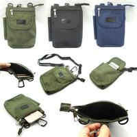 Men's Military Cycling Fitness Climbing Phone Zipper Hasp Bag Sport Wallet Pouch Money Belt Bag Hiking Outdoor Waist Packs NEW