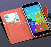 """100pcs/lot book style wallet leather Case cover for Meizu M1 Note Noblue Note 5.5"""" case flip cover with card slots holders"""