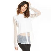 2015 New Shirt Women Blouses Long Sleeve White Blouse Sexy Perspective Blusas Femininas Blusas Plus Size Women Shirts Blouses