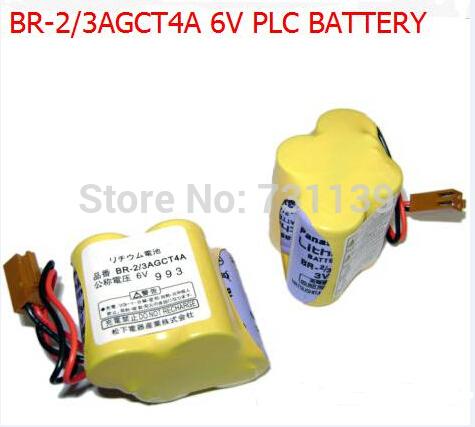 Сухая электрическая батарея 2/3AGCT4A br2/3AGCT4A /2/3a4f BR2/3A4F 6V PLC FANUC Panasonic BR-2/3AGCT4A