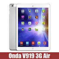 Onda V919 3G Air Tablet Phone Call Octa Core Android 4.4 MT8392 2.0GHz 2GB RAM 16G ROM 5MP Camera 9.7inch IPS 2048x1536 Original