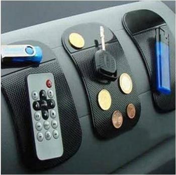 1 шт. автомобили аксессуары для интерьера для мобильного телефона mp3mp4 Pad GPS против скольжения автомобиля липкое мат противоскользящим работают отлично как шарм