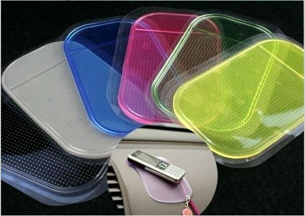 1PCS Automobiles Interior Accessories for Mobile Phone mp3mp4 Pad GPS Anti Slip Car Sticky Anti Slip