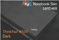 KH Special Laptop black Leather skin cover for IBM Thinkpad T500 W500