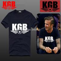 Euro Size CCCP T Shirts Men Soviet Union KGB Short Sleeve Cotton Man T-Shirt Moscow Cold War Mens tshirt Tops Tee Free Shipping