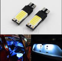 2X T10 LED 194 168 W5W COB Interior Bulb Light Parking Backup Fog Brake Lamps White Canbus No Error