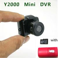 2014 Hot Sale Smallest Mini HD Video Camera 2.0Mega Pixels Pocket DV DVR Camcorder Recorder Spy Hidden Web Cam with 4GB TF card