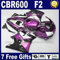 Custom free ABS fairing kits for Honda 91 92 93 94 CBR 600F2 CBR600 F2 1992 1993 1991 1994 CBR600F2 body repair fairngs bodykit