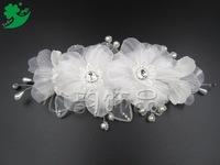 new bride wedding jewelry Korean handmade pearl headdress headdress flower wedding accessories 2 yuan jewelry wholesale