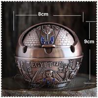 14cm diameter round zinc alloy metal  cigarette ash tray ashtray for hotel home table decoration