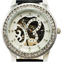 Relojes Time-limited New Arrival WINNER Freeshipping Glass Women Watches Women's Elegant Fashion Pierced Mechanical wrist Watch