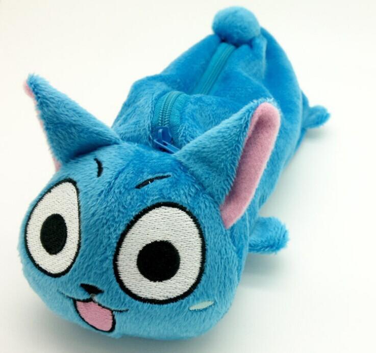 Fairy Tail Bleu Happy Cat
