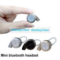 New Super Small Snail stereo headset bluetooth earphone headphone mini V4.0 wireless bluetooth handfree universal for all phone