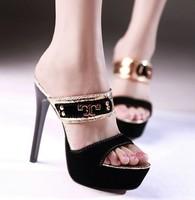 Dropshipping New Women Ladies Open Toe High Heels Sandals Platform Pump Wedding Shoes Sz