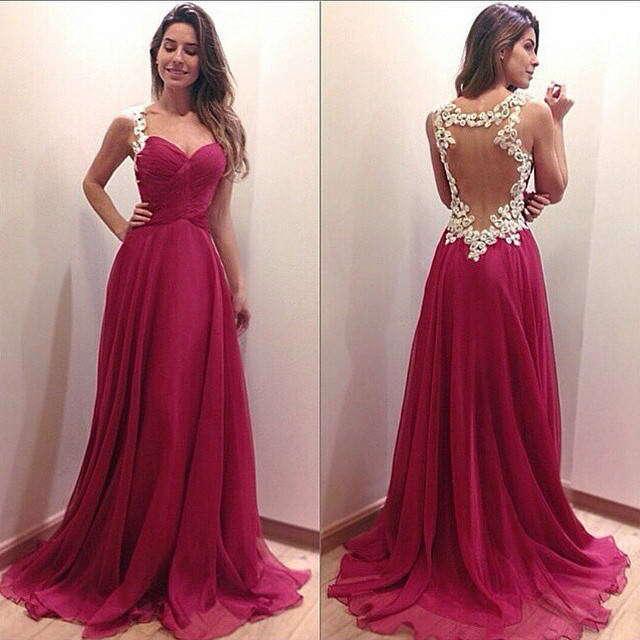 длинное платье без спинки белый крючком длиной до пола платья женщин шифон