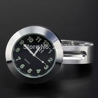 30PCS/LOT Universal Waterproof Motorcycle Motorbike Handlebar Mount Clock