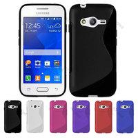 2 pcs x For Samsung Galaxy Ace 4 Lite  G313H S Line TPU GEL Case Cover