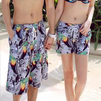 Hot Sales! Shorts Feminino Sport Causal Summer Beach Shorts Women Bird Printed Beachwear Holiday
