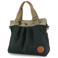 2015 High Quality Women's Casual Canvas Handbags Vintage Luxury Handbags Lady's Party Bags Shoulder Bag