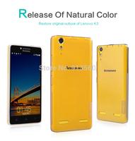 Free shipping 10pcs original Nillkin case for Lenovo  K3  Nature TPU transparency case  + retail box