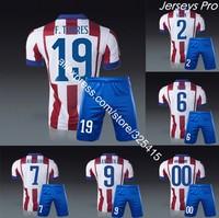 Fernando torres 2015 home soccer jerseys and short uniforms Simone Mandzukic Godin Koke antoine Griezmann Arda turan raul garcia