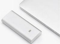 Original XIAOMI 16000mAh 16000 mAh Power Bank Portable Charger Powerbank Battery  for Phone Tablet Silver