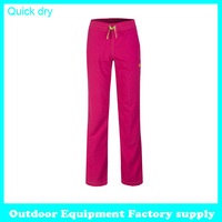 Dropshipping 2015 Outdoor summer Pants Trousers quick dry Outdoor Pants Hiking Camping Climbing Sports hiking trousers women