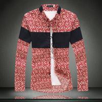 Men Good Quality Shirt Brand New Arrive Fashion Man Plus Size Cotton Shirt Size 5xl 4xl 3xl 2xl xl l m Camisa Masculina