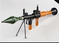 Free shipping 1:48  41CM Long Alloy Detachable Barrett Rocket Launcher Military Model, Military Souvenir gift,model toy