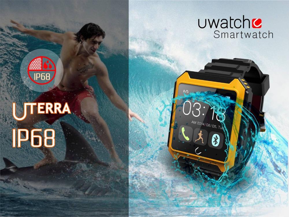 2015 3 M /1,6 sMartwatch Bluetooth u forIOSIphone AndriodPhone saMsung HTC reloj inteligente bluetooth smartwatch u u forios s4 3 htc android samsung
