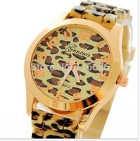 10pcs lot Golden Leopard Watch Women casual dress wristwatch woman Fashion Watch Ladies Wholesale