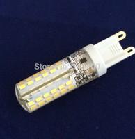 10X Mini G9 7W LED lamp 3014SMD AC 200-240V Silicone LED Corn Bulb 96LEDs Crystal Chandelier Spot light