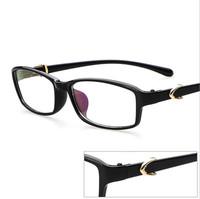 2015 New Eyeglasses Spectacles Frame Glasses Retro Women/Men Optical Myopia Frame Plain Glasses Eyewear UV400 Oculos De Sol