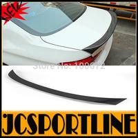 2010-2014  F10 V Style Carbon Fiber Car boot lip, Trunk lip  spoiler For BMW (Fits F10 528 535 550 M5 M sport ALL F10 SEDAN)