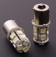HotSale,1156/BA15S P21W 13 SMD 5050 LED Brake Tail Turn Signal Light Bulb Lamp white Auto led Car bulb light 12V Free shipping