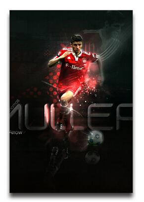 Wallpaper Of Thomas Muller,Hot Germany Football Player Poster,HD Wall Stickers ,Free shipping(China (Mainland))