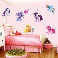 My Little Pony Wall Sticker Removable Vinyl Art Decal Kids Nursery Decor Mural
