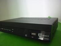 2pcs/lot Africa dstv hd gprs decoder q-sat q26g receiver can open dstv and Canal sat TV channels qsat gprs receiver q-sat q26g