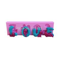 Love Cartoon Soft Silicone Cake Mold Fondant Decorating cartoon Shape Soap chocolate fondant silicone