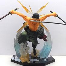 Бесплатная доставка японский поп один кусок Figuarts пвх Roronoa зоро аниме фигурку луффи борьба onepiece рисунок
