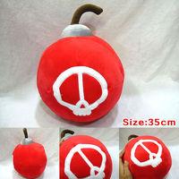 Free Shipping 4pcs/lot 35cm New Plush Ziggs Bomb Toy dolls Pillow gift for children