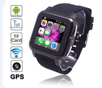 Free Shipping-2015 New Hot Sale Smart Watch Phone Android4.04 with WIFI 512MB RAM 4GB ROM,3.0Mp camera,GPS Z15