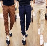 Plus Size Men Pants Fit Cotton jogger pants Mid Rise Leisure Men's Trousers Mens Pants Harem Pants  XXL-6XL